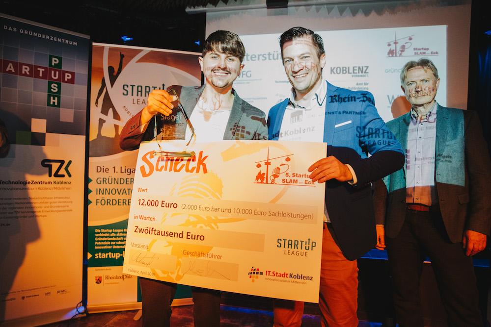 Virtual Reality gewinnt beim Startup Slam