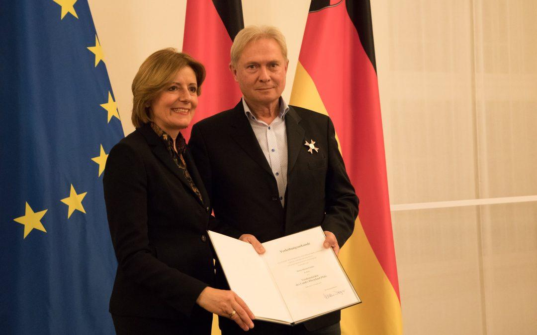 Höchste Landesauszeichnung für Stifter Martin Görlitz