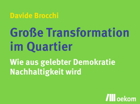 Rezension I Davide Brocchi – Große Transformation im Quartier