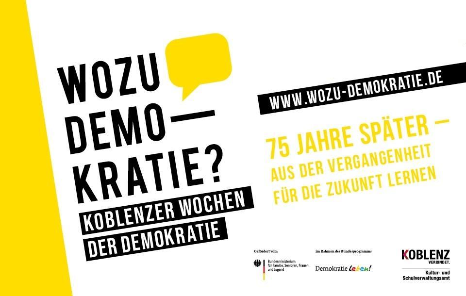 Koblenzer Wochen der Demokratie – light