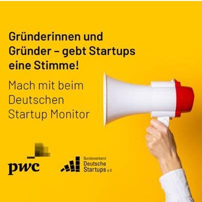 Umfrage zum Deutschen Startup Monitor 2021
