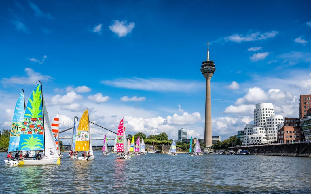 Kulturregatta Sailing #Art4GlobalGoals in Koblenz