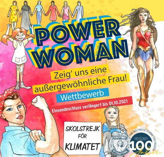Power Woman – zeigt uns eine außergewöhnliche Frau