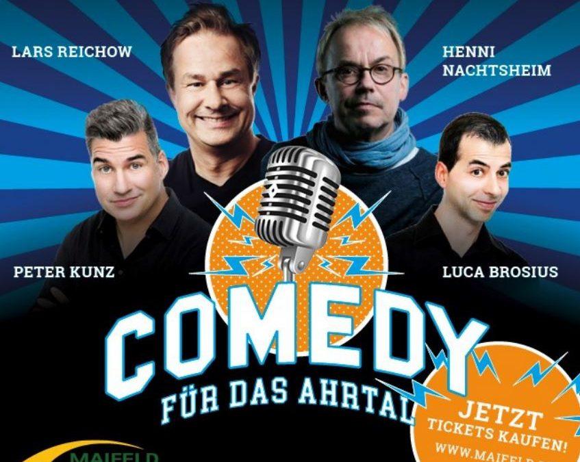 Weinen und Lachen – Comedy Veranstaltungen unterstützen das Ahrtal